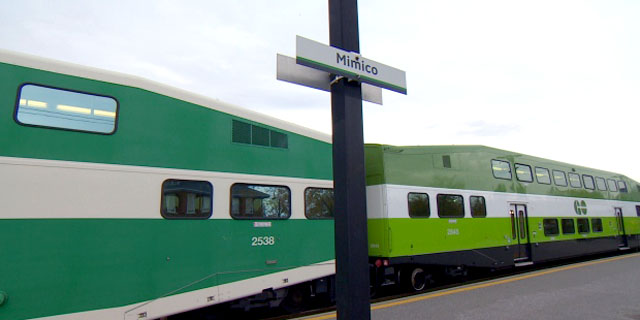 Photo of Go Mimico Station